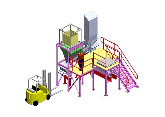 Vesuvius Plant Machinery Upgrade and Relocation
